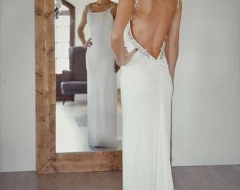 EMMA stretch backless dress