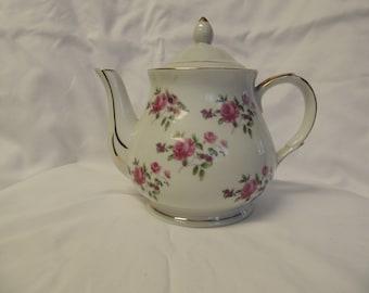 Vintage Porcelain Electric Teapot