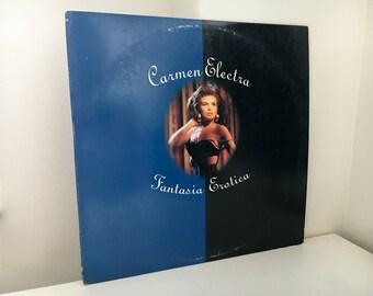 "Carmen Electra - Fantasia Erotica -  Double 12"" Vinyl -"