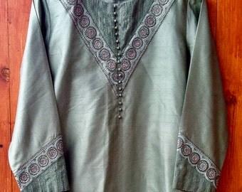 Silk Kurta & Churidar India
