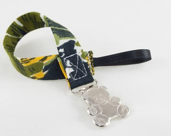 Pacifier Clip - Safari Universal Clip for Baby Pacifier/Binky/Soothie