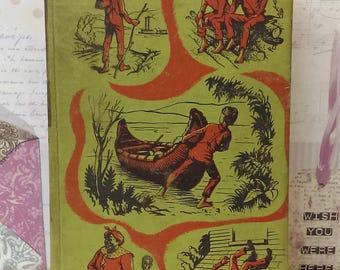 The Adventures Of Huckleberry Finn By Mark Twain (The Heirloom Library, 1958) Vintage Hardback