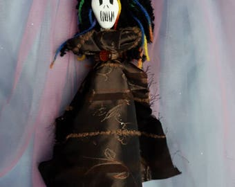 Authentic voodoo doll, one of a kind, unique, Good Luck,spirit doll, Feminine Power, support, doubt, poppet, art doll