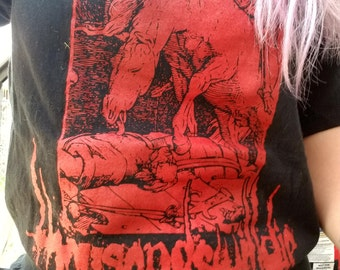 Thousand will die grindcore band shirt