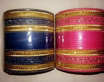 Naulakha's Exclusive Bangles (Gold Edition)