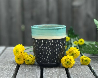 Turquoise Tumbler Cup 1