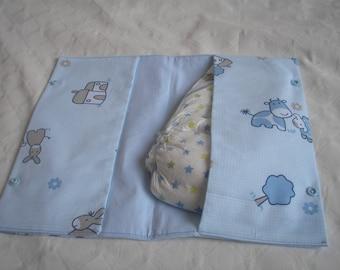 Diaper bag Model wallet-handbag for diaper change