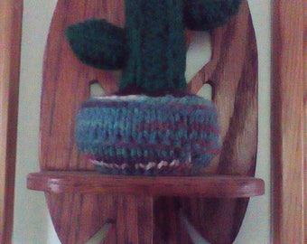 Handmade Cactus Decoration / Knitted Gift / Fun Gifts / Office Gifts / Gifts for Plant Lovers / Housewarming / Dorm Gifts / Home Decor
