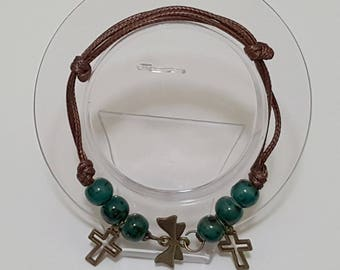 Retro handmade fashion ceramic Lucky Bracelets-Adjustable K3