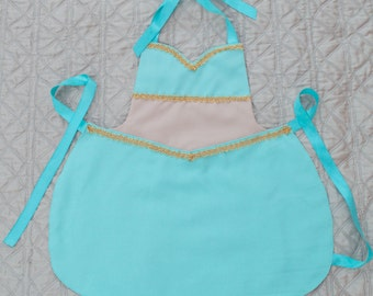 Princess Jasmine Inspired Dress Up Apron