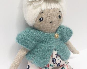 Handmade Heirloom Linen Doll