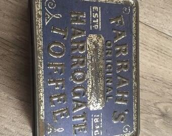 Farrah's Original Harrogate Toffee Collectible Vintage Tin