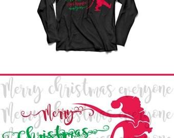 Bundle SVG, Christmas svg, Santa Hat SVG, Santa hat, Santa Hats Clipart, Santa Hats Monogram Frames Cut Files for Cricut, Silhouette, elf