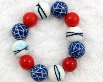 Patriotic Americana bracelet