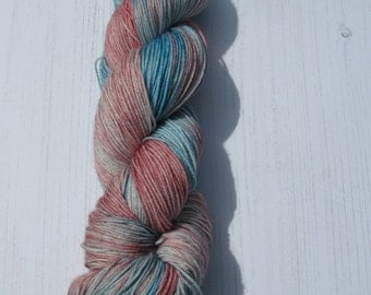 "4 Ply ""Casseopia"" hand dyed sock yarn"