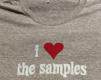 I Heart The Samples  //  The Samples  // Ladies' Tri Blend // American Apparel