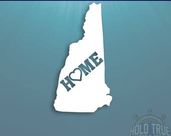 New Hampshire Decal - PICK COLOR and SIZE - New Hampshire Home Decal - Nh Decal - New Hampshire Car Decal - New Hampshire sticker