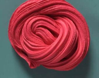 Red/pink butter slime