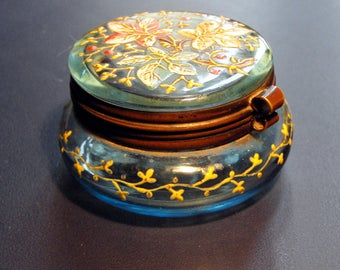 enameled glass box