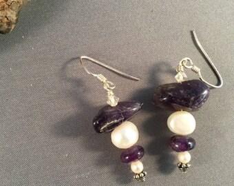 Amethyst & Pearls