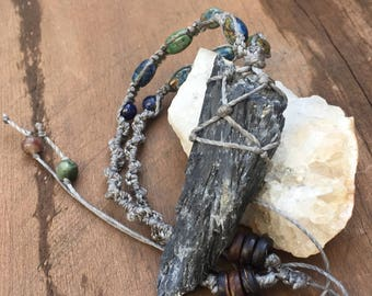 Kyanite Blade Necklace