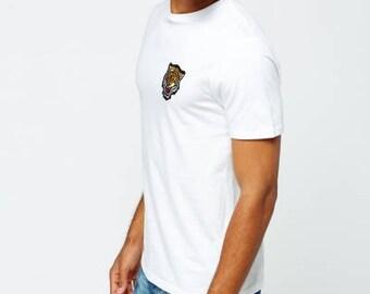 Tiger Badge White T-Shirt