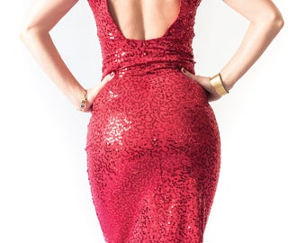 Roma SEQUIN tango dress