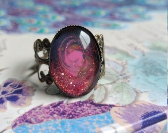 Gold Dust Woman Ring