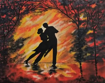 Dancing the Night Away - Oil Painting