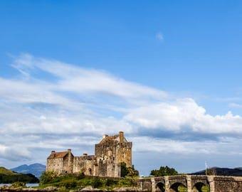 Eilean Donan // Castle // Scotland // Highlands // Landscape Photography // Wall Art // Canvas // Giclée