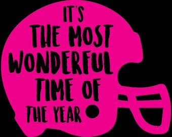 Wonderful Time Of The Year Vinyl Decal