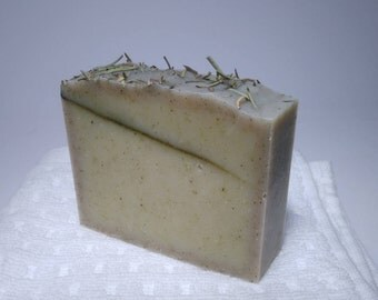 ROSEMARY ARTISAN SOAP. Rosemary Essential Oil and Shea Butter.