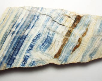 Blue SHEELING *New Find from Turkey* for cabbing/display/lapidary