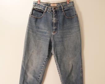 Faded Ultra Hi-Rise Tapered 90s Jeans | 30W