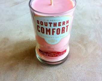 French Vanilla Bourbon-scented Southern Comfort Candle