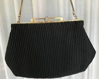 Vintage Walborg Black Evening Bag