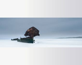 Unique Fine Art Print - Photography - Baltray Wreck