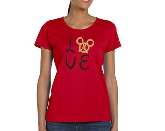 Mickey Pretzel Shirt - Disney Food Shirt - Disney Snack - Disney Women's Shirt - Disney T Shirt
