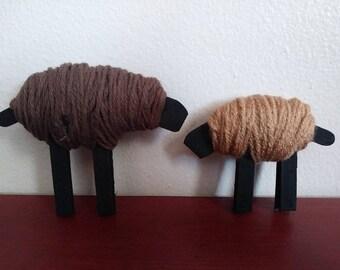 Primitive Yarn Sheep Knickknack
