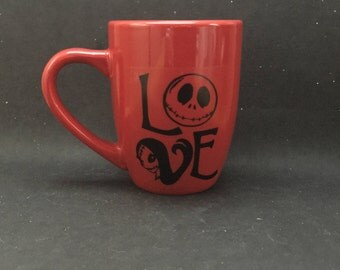 Jack and Sally Love Mug