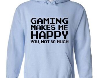 Gaming makes me happy - Hoodie sweatshirt