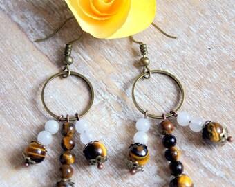 Pearl Earrings natural gems