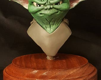 Painted Yoda Bust