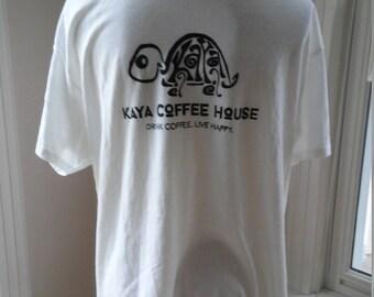 Kaya Coffee House T Shirt Large