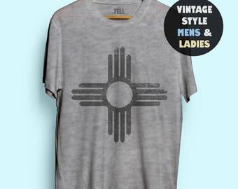 Zia Symbol T-shirt Tshirt Top New Mexico Shirts Jewelry Art Gifts