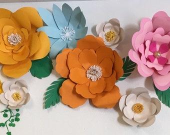 Paper Flowers Moana