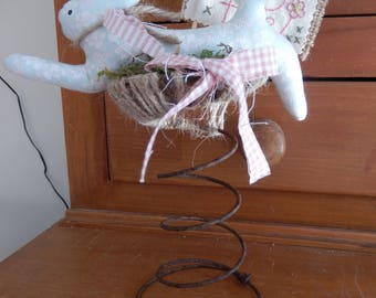 Spring Rabbit Decoration