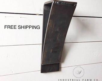 Heavy Duty Shelf Brackets Metal Corbel – Ideal for Modern Industrial Farmhouse Décor