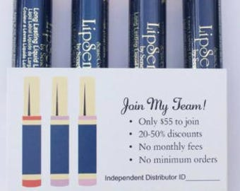 Join My Team! LipSense and SeneGence Card
