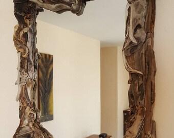Driftwood Mirror 'Astrokeri'